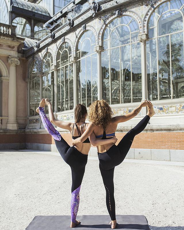 clases de yoga en el retiro